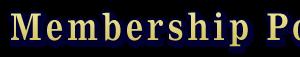Student Membership Portal