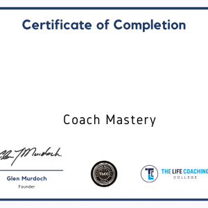Online Coach Mastery Certificate For Learn Dash