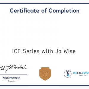 Icf Series Certificate